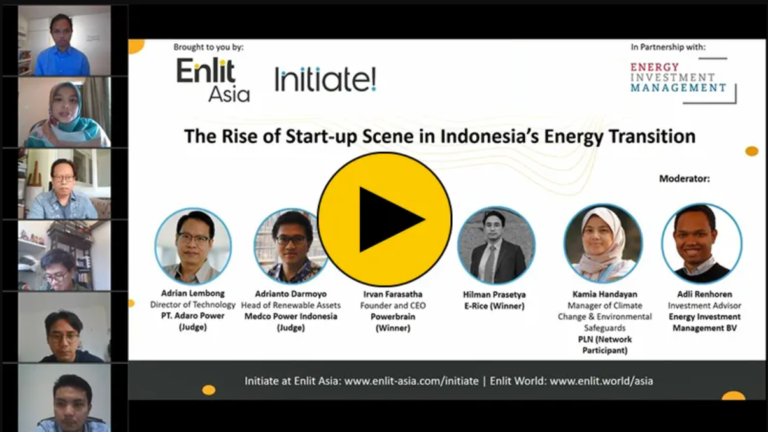 Initiate: The Rise of Start up Scene in Indonesia's Energy Transition