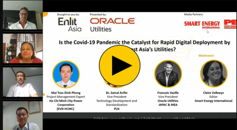 Is the Covid-19 Pandemic the Catalyst for Rapid Digital Deployment by Southeast Asia's Utilities?