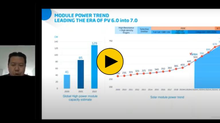 Module & Tracker Innovations Driving Down PV's LCOE Across APAC
