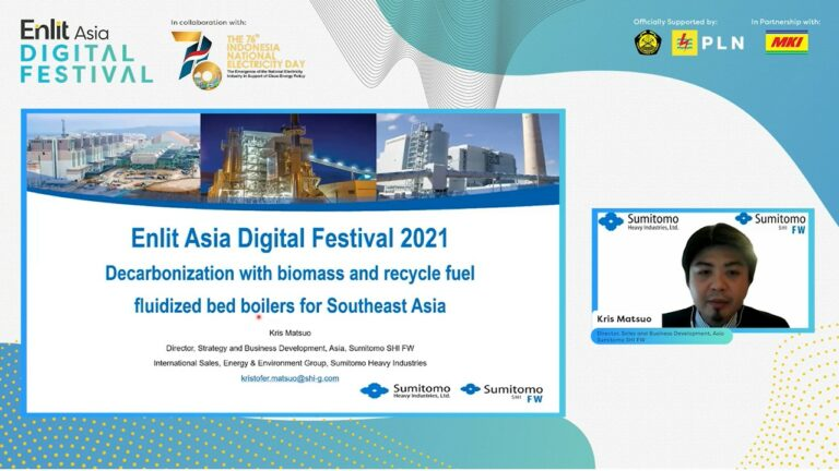 Digital Festival – De-carbonization with Biomass and Recycle fuel fluid bed boilers for Southeast Asia