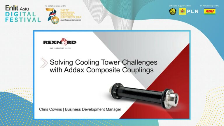 Digital Festival – Solving cooling tower challenges with Addax Composite Coupling